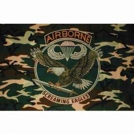 Vlag airborne camo