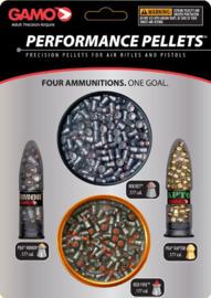 High Performance 4,5mm luchtbuks kogeltjes - 4 verschillende soorten