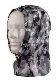 Multifunctioneel hoofddeksel - muts, balaclava, sjaal, hoofdband etc. - Urban camo