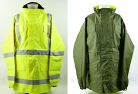 Jacket Reversible High Visibility MVP parka omkeerbaar met reflecterende strepen - fluorgeel/groen - maat 170/104 - origineel