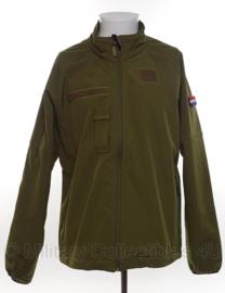 KL Nederlands leger softshell jack GROEN - Small tm. XL ! - origineel
