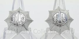Gemeente Politie schouder epaulet rang - afmeting 2 x 2 cm - origineel