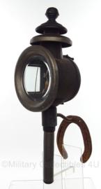 NL koetslantaarn met steun - Antiek - 49 cm lang -  Origineel