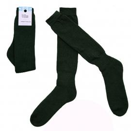 Leger sokken groen - nieuw gemaakt - maat 42 tm. 44