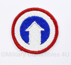 US Army naoorlogs full colour embleem 1st Logistics Command - diameter 5 cm - origineel