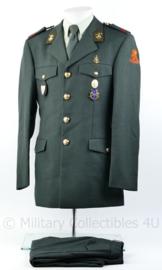 KL DT2000 genie uniform met broek met veel insignes -  105 Genie compagnie waterbouw - maat 49 -  origineel