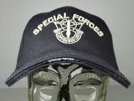 Baseball cap Special Forces - zwart