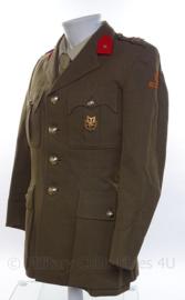 """KL Koninklijke Landmacht Officiers uniform jasje - Rang tweede Luitenant - """"vroeg model"""" jaren 60 met MLV speld - maat 50 - origineel"""