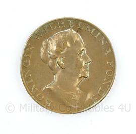 Koningin Wilhelmina Fonds uit waardering  Fr. H Gemen 1976 1987 - diameter 4,5 cm - origineel