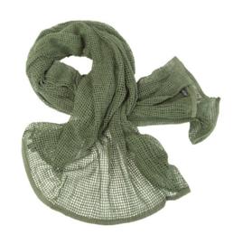 Camo sjaal - GROEN- 90 x 190 cm