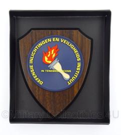 KL Landmacht Defensie Inlichtingen en Veiligheids Instituut - nieuw in doosje - afmeting 19,5 x 22,5 cm - origineel
