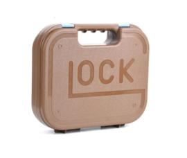 Glock pistool koffer hard kunststof - COYOTE