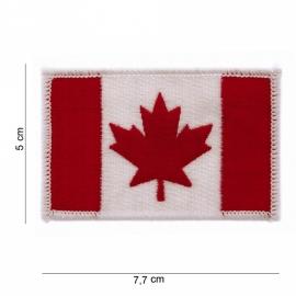 Uniform vlag stof Canada - klein 7,7 x 5 cm