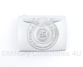 Waffen ss koppelslot ss zilver  - met stempels - topkwaliteit