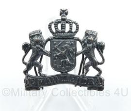 Nederlandse overheid Je Maintiendrai embleem zilverkleurig - origineel