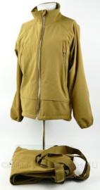 Zeldzaam KCT Korps Commando Troepen Softshell jas en broek set Coyote - maat Large - rits los - origineel