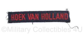 MVO straatnaam Regiment Hoek van Holland - origineel