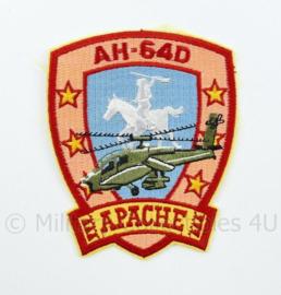 Nieuw gemaakt embleem RAH64D Apache - 10 x 8,5 cm