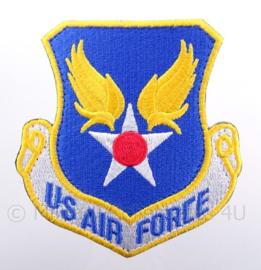 US USAF United States Air Force piloten borst-embleem - met klittenband - afmeting 9 x 10 cm
