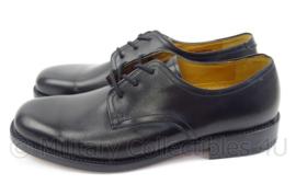 KL Koninklijke Landmacht DT schoenen zwart met lederen zool - NIEUW - merk Avang - maat 245B=38b   - origineel