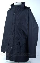 winterjas met voering - donkerblauw - maat L - nieuw - origineel