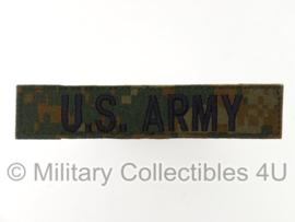 """""""US Army"""" marpat camo branch tape/naamlint met klittenband - origineel"""