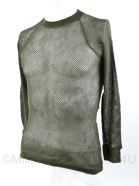 Korps Mariniers en Noorse leger ondergoed shirt groen - maat Middels = Medium - origineel