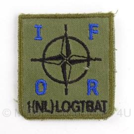 KL borst embleem IFOR 1(NL)logtbat. - 5 x 5 cm - origineel