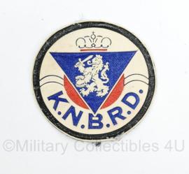 embleem K.N.B.R.D  Koninklijke Nederlandse bond tot op het redden van drenkelingen -  diameter 7 cm - origineel