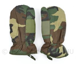 Korps Mariniers en Defensie Forest Woodland camo wanten  - Dutraco Gouda - Size medium - origineel