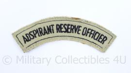 Koninklijke Marine Aspirant reserve officier straatnaam  - origineel