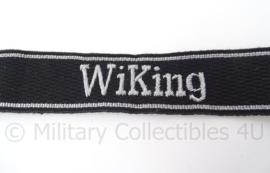 SS cufftitle Wiking - 5e SS Panzer Divisie officier metaaldraad