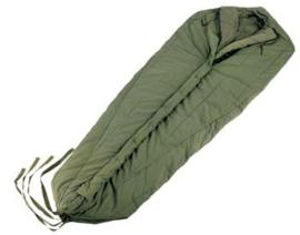 US Army Sleeping bag  GI ISSUE INTERMEDIATE COLD SLEEPING BAG met buitenhoes - origineel