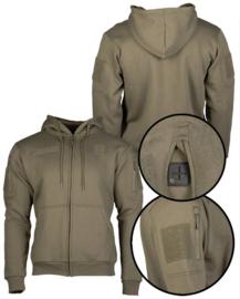 Tactical Hoodie Sweatshirt met klittenband - Ranger Green