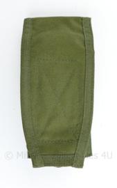 Defensie en Korps Mariniers en US Army groene Molle pouch single magazin M4 en Diemaco - 18 x 8,5 x 5,5 cm - nieuw - origineel