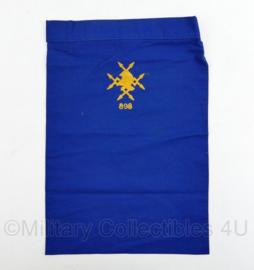 Nederlands leger halsdoek 898 VbdBat 898 Verbindingsbataljon - blauw - origineel