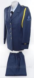 KLU luchtmacht dames DT jas en broek set - maat 40 - origineel