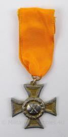 Oostenrijkse leger 10 jaar Trouwe Dienst medaille onderofficier - 1913-1918 - afmeting 3,5 x 9 cm - origineel