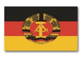 DDR vlag replica 150 x 90 cm.