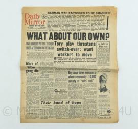Daily Mirror krant - 23 May 1945 - origineel