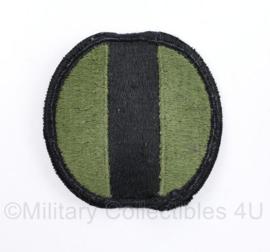 US Army Naoorlogs subdued embleem Training and Doctrine Command - 6 x 6 cm - origineel