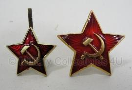 Russische ster voor pet of bontmuts - origineel