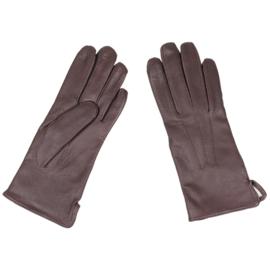 KL Nederlandse leger handschoenen DAMES - bruin leer - NIEUW - maat 8 - origineel