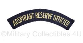 Koninklijke Marine straatnaam - 12,5 x 2,5 cm- origineel