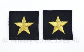 Koninklijke Marine rang ster embleem - 4 x 4 cm - per stuk - origineel