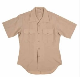 USMC US Marine Corps Usmc Short Sleeve Khaki Uniform Shirt - origineel