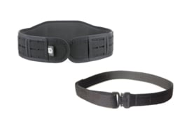 High Speed Gear Slim-Grip padded belt with Cobra Rigger belt  - ZWART - NIEUW - maat Extra Large - origineel