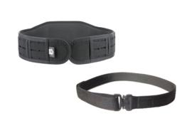 High Speed Gear Slim-Grip padded belt with Cobra Rigger belt  - ZWART - NIEUW - maat Extra Large - origineel