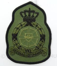 KLu Luchtmacht eenheid embleem - VKL Volkel - met klittenband - afmeting 8 x 12 cm - Origineel
