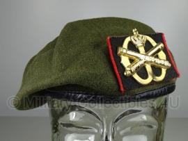 KL Nederlandse leger Veldartillerie baret - oud model - maat 56 tm. 59 - origineel